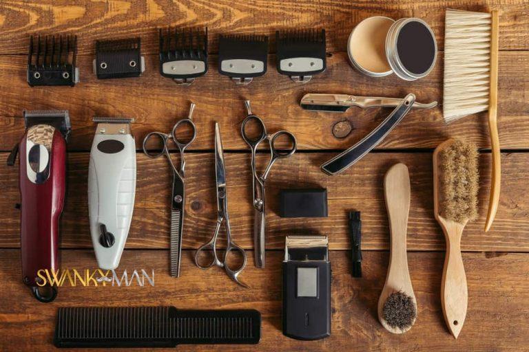 Hair clipper accessories for men