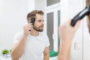 How To Use A Mirror To Cut Your Own Hair